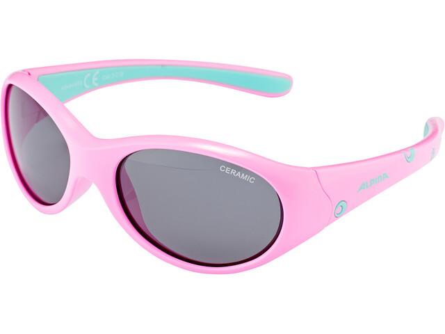 Alpina Flexxy Brille Mädchen rose-mint
